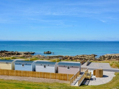 West Beach Glamping and Caravan Park - Chic Scotland