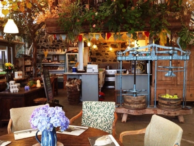Chic Scotland - The Glass Barn Cafe