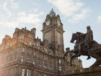 Chic Scotland - Balmoral Hotel Edinburgh