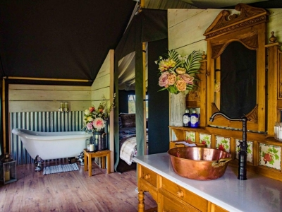 Glamping at Damview - Chic Scotland
