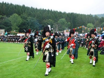 The Lonach Highland Gathering and Games