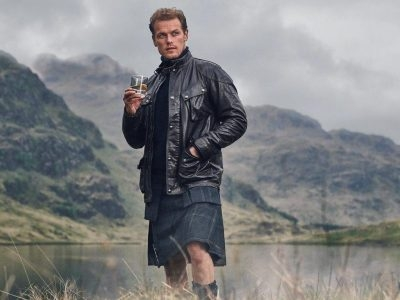 Sam Heughan talks exclusively to Chic about Holidays, Hotels and Whisky!